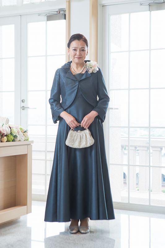 母親用結婚式ドレス